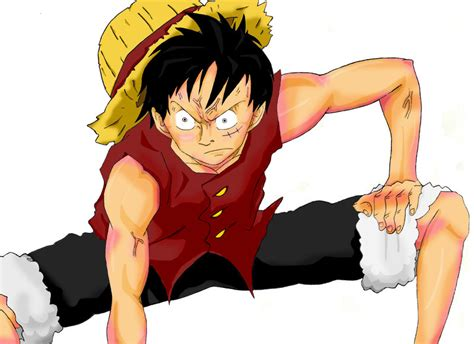 Monkey D Luffy Gear Second monkey d luffy quot gear second quot by kingbayo on deviantart