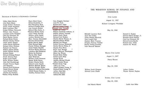 Wharton Mba Class Profile Gpa by 1st In Class At Wharton News