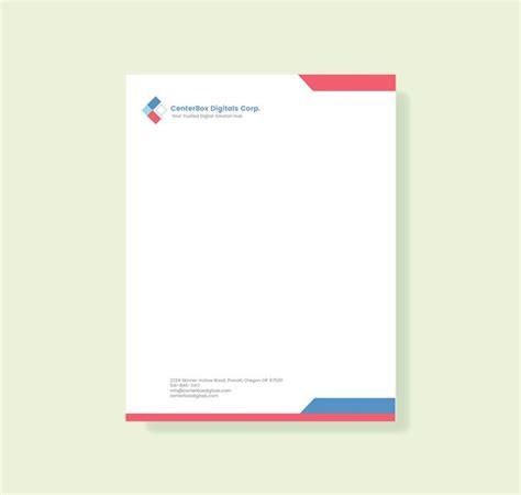 37 Professional Letterhead Templates Free Word Psd Ai Format Download Free Premium Free Company Letterhead Template