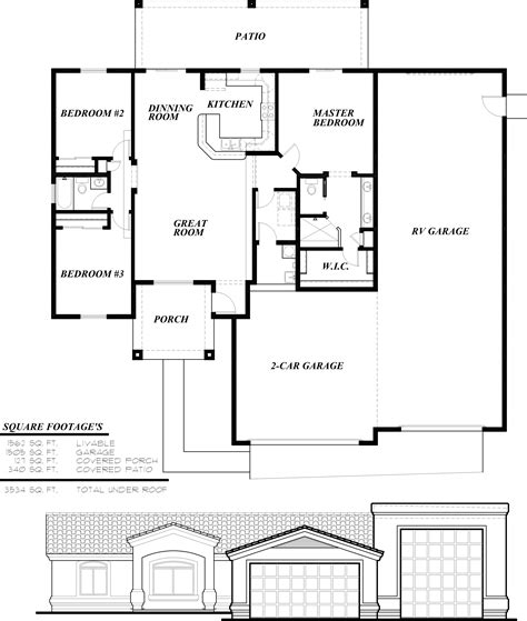 Shop Homes Floor Plans Floor Plan For Homes With Innovative Floor Plans For