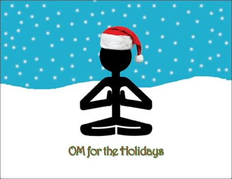 images of christmas yoga yogadudes yoga holiday cards special promo