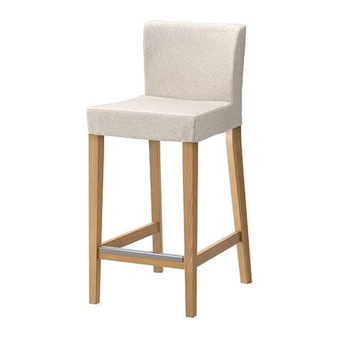 Stool Bar Ikea Henriksdal Bar Stool With Backrest 63 Cm Ikea