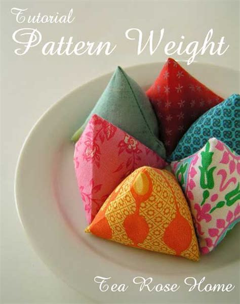 pattern weights pattern fabric pattern weights free sewing tutorial love to sew