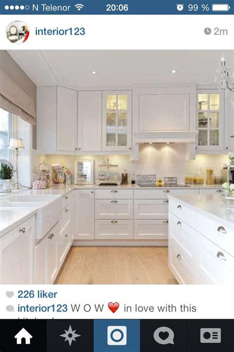Interior Design For Kitchens Hvitt Kj 248 Kken Inspirasjon Kj 248 Kken Pinterest Kitchens