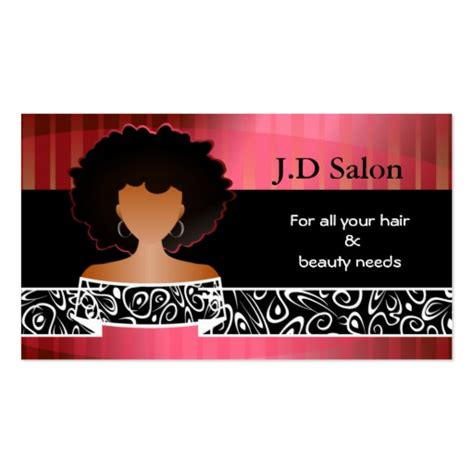 business card template hair salon hair salon businesscards sided standard business