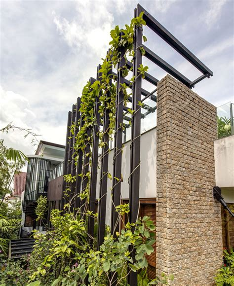 Vertical Garden House Gorgeous Vertical Garden House By Aamer Architects