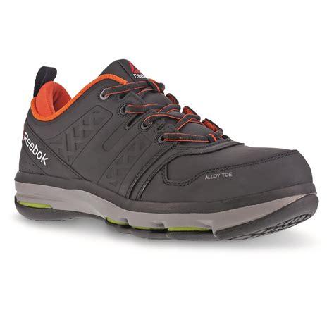 reebok composite toe sneakers reebok s dmx flex work composite toe work shoes
