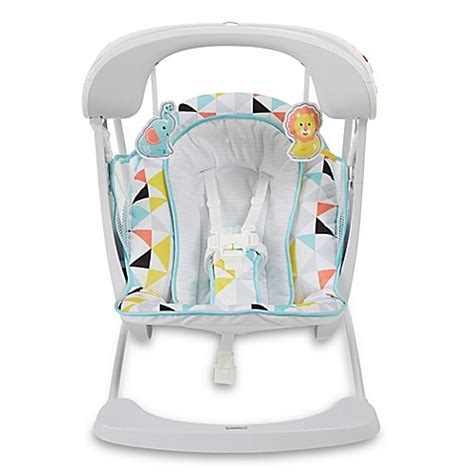 fisher price take along swing fisher price 174 deluxe take along swing seat buybuy baby