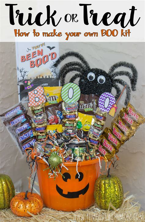 Trunk Or Treat Decorating Kits by Trick Or Treat How To Make Your Own Boo Kit And Booitforward