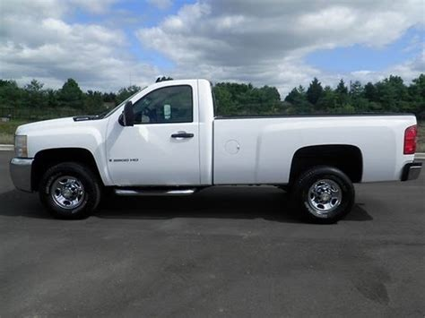 sold.2007 chevrolet silverado 2500 hd regular cab 4x2