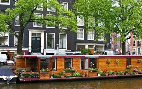 amsterdam house boat houseboats in the amsterdam canals holland com