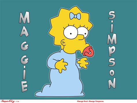 maggie the maggie the simpsons wallpaper 6345179 fanpop