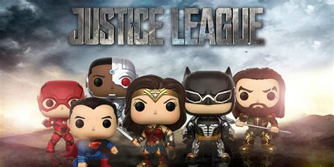 Funko Pop Dc Justice League 2017 Batman justice league funko figures revealed screen rant