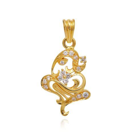 pendants lord ganesha gold pendant grt jewellers