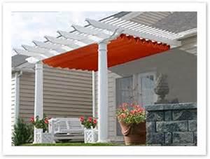 pergola retractable sun shade ohio awnings solar
