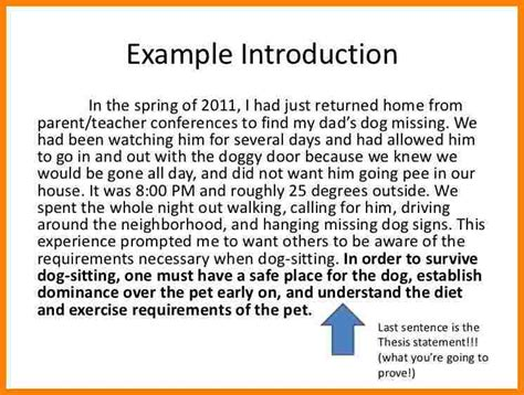 Introductory Paragraph Essay by 7 Introduction Paragraph Exles About Yourself Introduction Letter