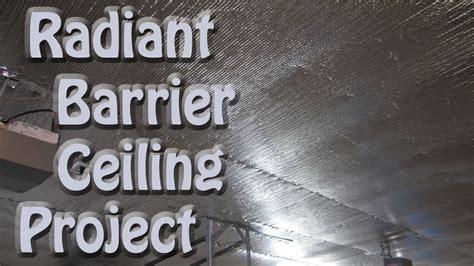 Basement Wrap reflectix bubble foil radiant barrier garage ceiling