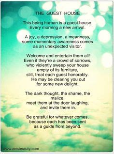 rumi the guest house inspirational posters on pinterest inspirational posters darkness and inspirational