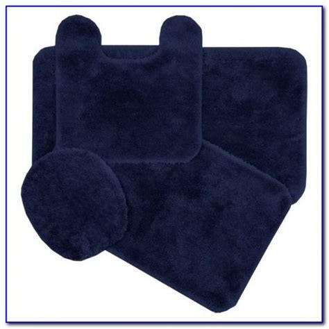 Navy Blue Bathroom Rug Set Navy Bathroom Rug Set Rugs Home Design Ideas Amdl62vpyb61628