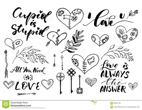 Wedding Font Outline by Day Wedding Lettering Outline