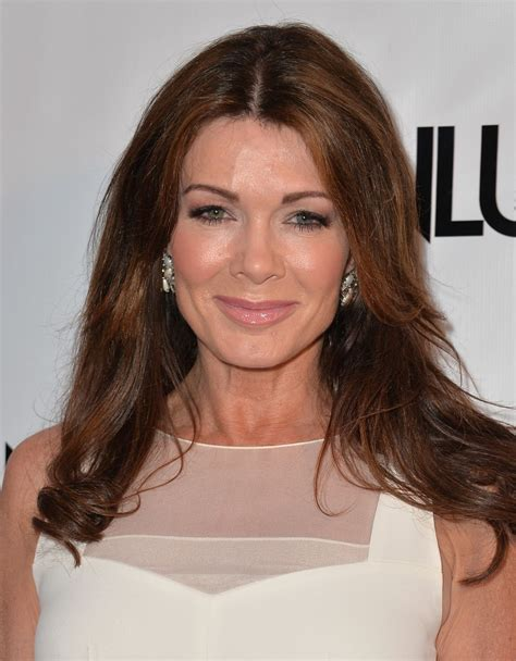 what color hair color as yolanda beverly hills housewife lisa vanderpump at the genlux magazine issue release party