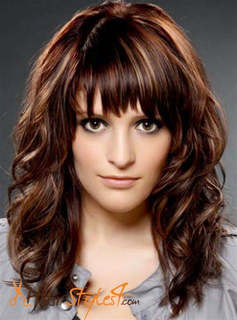 haircuts with bangs and layers 2015 layered haircut with bangs hairstyles4 com