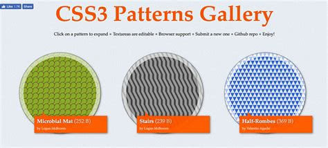 website with css3 pattern powerful css tools for web designers developers web