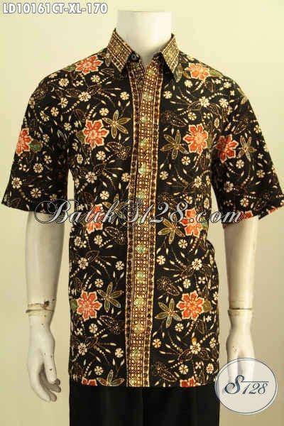Baju Lacoka Lengan Pendek Bahan Nyaman model baju batik terbaru untuk lelaki dewasa pakaian