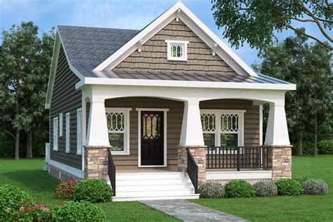 Bungalow Plan 966 Square Feet 2 Bedrooms 1 Bathroom Bungalow House Plans In America