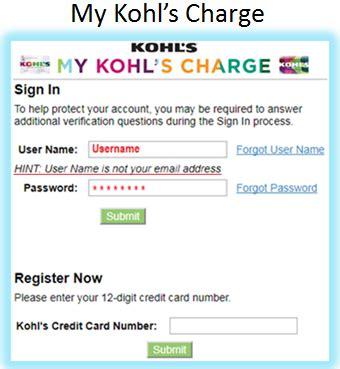 make kohls credit card payment kohl s pay credit card number infocard co