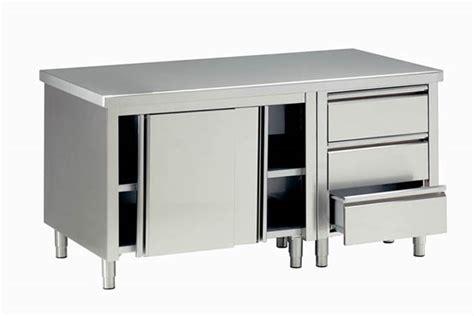 tavoli in acciaio inox per ristorante usati polzot polzot belluno forniture e assistenza di