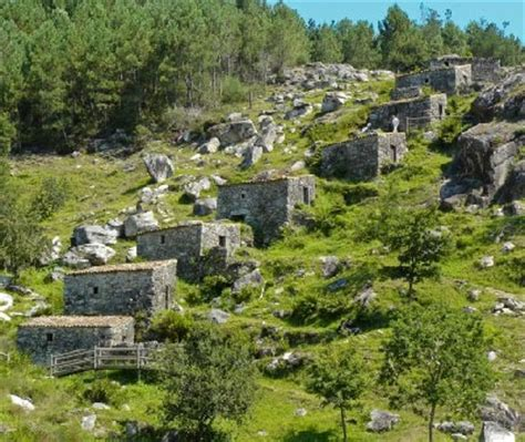 monte aloya park mills in the monte aloia national park galicia spain