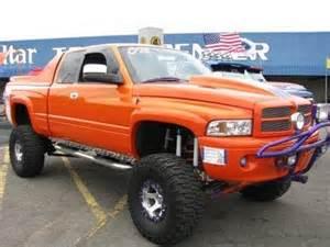 custom 2000 orange dodge ram 1500