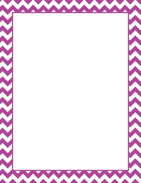 chevron border template printable purple chevron border free gif jpg pdf and