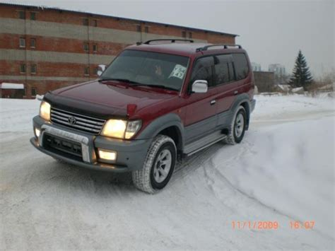 2000 Toyota Land Cruiser For Sale 2000 Toyota Land Cruiser Prado Pictures 3400cc Gasoline