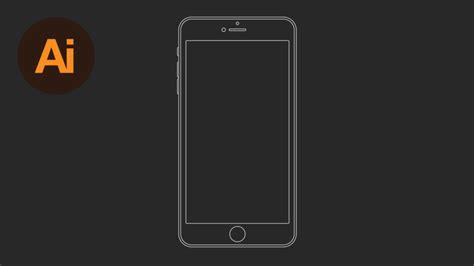 illustrator tutorial wireframe draw an iphone 6 wireframe in illustrator wanderlust web