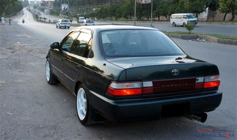 Toyota Ae101 Specs Toyota Corolla Xe In Pakistan Corolla Toyota Corolla Xe