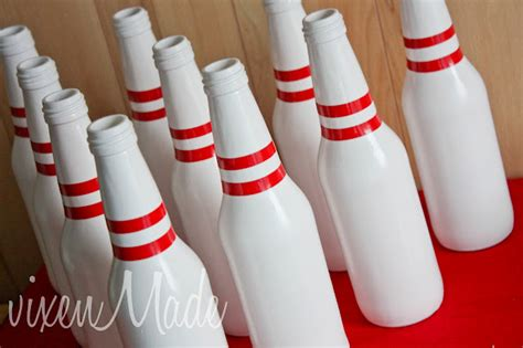 diy bowling favors bowling birthday bowling decoration ideas