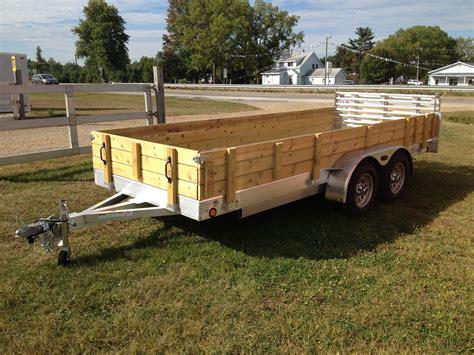 Utility Trailer Flooring by Aluminum Utility Trailer Ut Series Wood Floor W Wood
