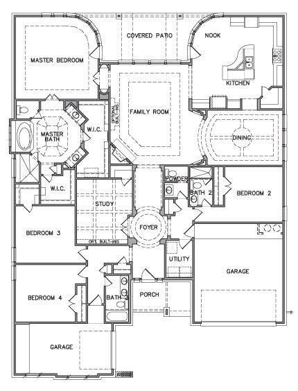 new kb home floor plans new home plans design