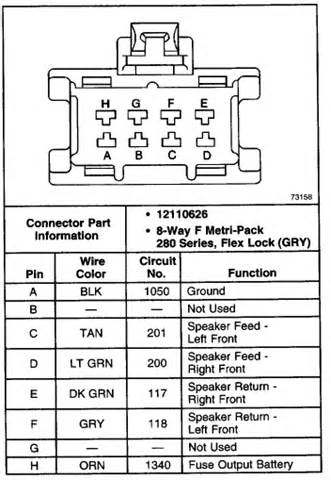 gmc envoy do you have wiring diagram for a bose system from