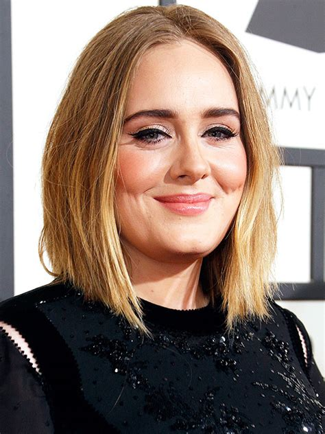 adele hair color grammys 2016 carrie underwood adele with