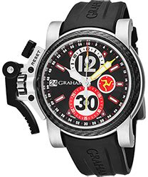 graham tourbillograph trackmaster men's watch model: 2twts