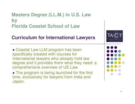Florida Coastal School Of Jd Mba by Masters Degree Ll M In U S V1 3