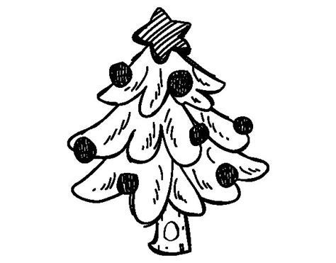 dibujos de navidad arboles dibujo de un 225 rbol navidad para colorear dibujos net