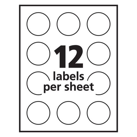 Avery 22825 Labels Avery 22825 Illustrator Template