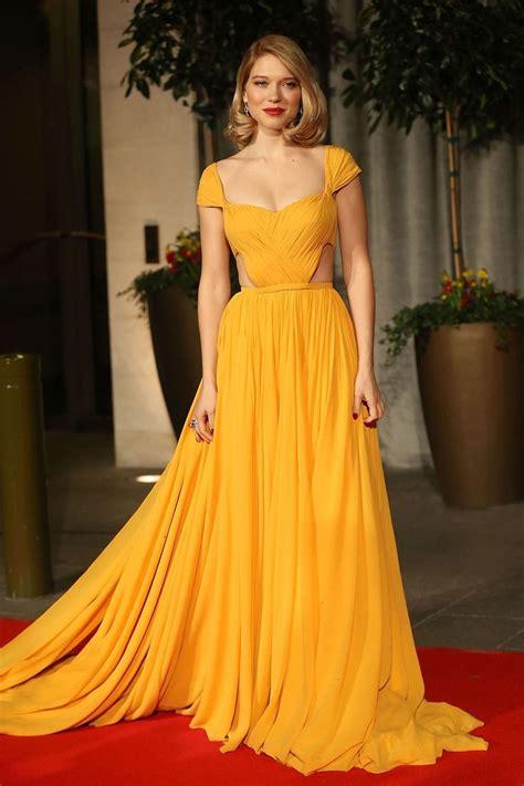 lea seydoux yellow dress 25 best ideas about yellow dress on pinterest yellow