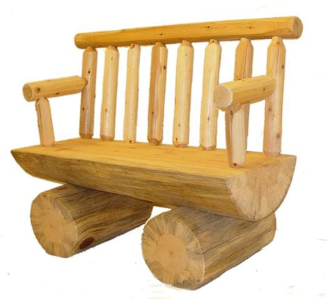 cedar log bench for the bus stop for the home pinterest round half log cedar bench wood projects pinterest