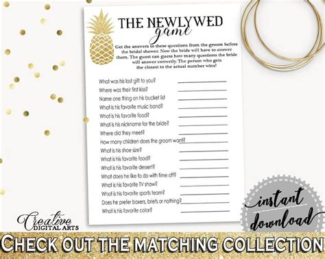 Newlywed Questions For Bridal Shower by The 25 Best Bridal Shower Newlywed Ideas On