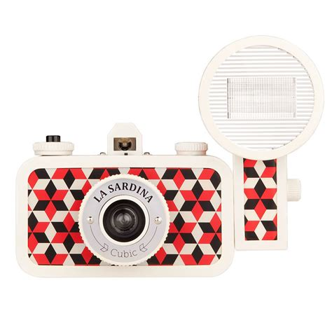 La Sardina Camera | lomography la sardina cubic camera with flash sweatband com